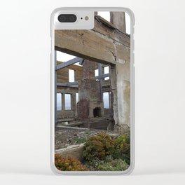 Broken Building Clear iPhone Case