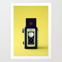 Duaflex II Camera Art Print
