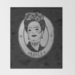 Kahlo Throw Blanket