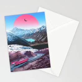 Oozing Down The Street Stationery Cards