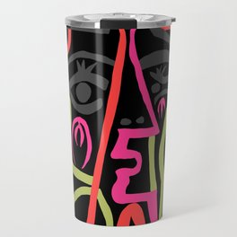 Picasso - Neon Colors Travel Mug