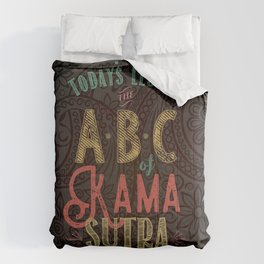 Kama Sutra Lessons Comforters