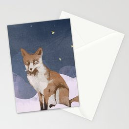 Fox Heaven Stationery Cards