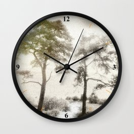 Peace before the Storm Wall Clock