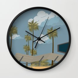 Dodger Stadium's Outfield Pavilion Wall Clock