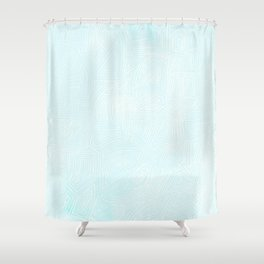 Winter Lines Shower Curtain