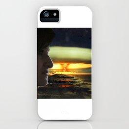 Atomic Bomb Girl iPhone Case