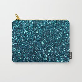 midnight blue sparkle Carry-All Pouch