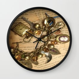more charmed steampunk Wall Clock