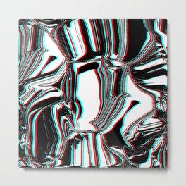 Hidden Layered Metal Print
