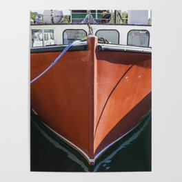 Red Lobstering boat Poster