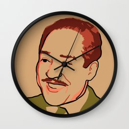 Langston Hughes Wall Clock