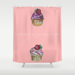 Cupcake confectionery. Shower Curtain