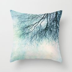 winter smooth Throw Pillow