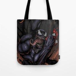Spider and Venom, man. Tote Bag
