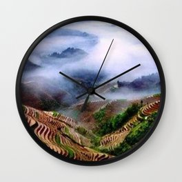 The Colors of Nature Wall Clock