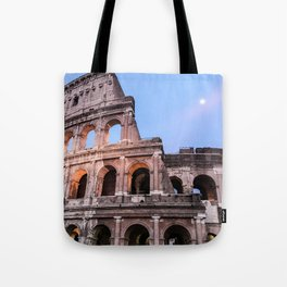 Colosseum at Night Tote Bag