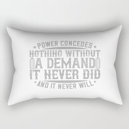 Electronics Technician - Power Concedes Nothing Rectangular Pillow