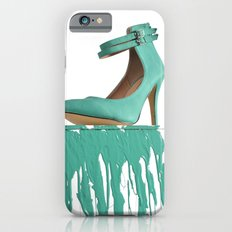 Dripping Green Shoe iPhone 6s Slim Case