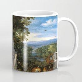 """Jan Brueghel the Elder """"The Garden of Eden"""" Coffee Mug"""