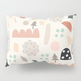 Fun Shapes Forest Pillow Sham