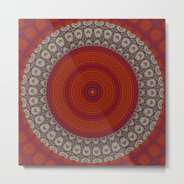 Some Other Mandala 25 Metal Print
