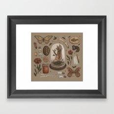 Preserved Memories Framed Art Print