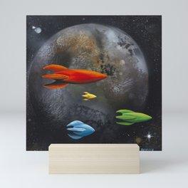 Forbidden Planet Mini Art Print