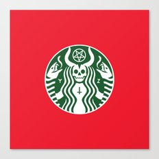 The Red Cup Of Doom Canvas Print