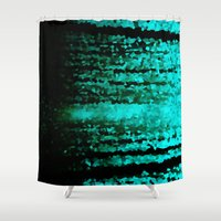 teal Shower Curtains featuring Teal  by 2sweet4words Designs
