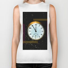 Time passes like soap bubbles Biker Tank