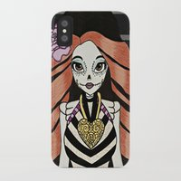 monster high iPhone & iPod Cases featuring Skelita - Monster High by Jeeny Trindade