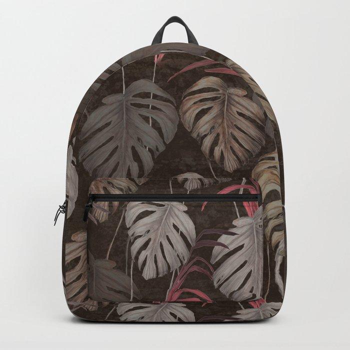 Earthy Leaves  Backpack