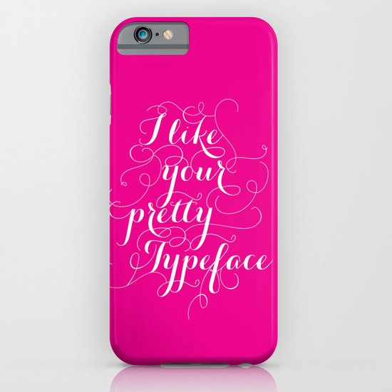 Pretty Typeface. iPhone & iPod Case