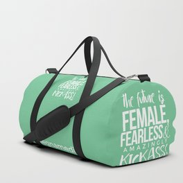 SHE IS THE FUTURE Duffle Bag