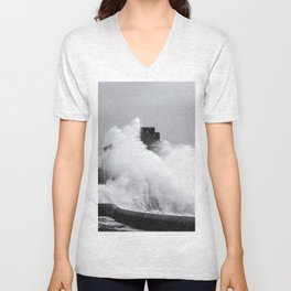Up an Over Unisex V-Neck