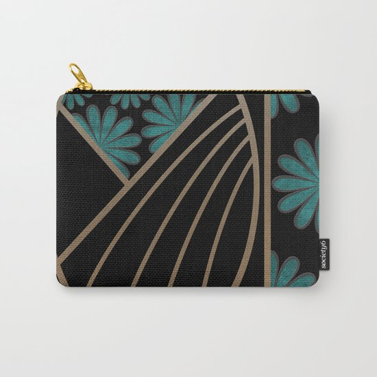 ART DECO FLOWERS (abstract) Carry-All Pouch