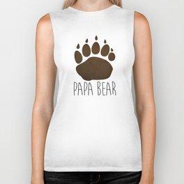Papa Bear Biker Tank