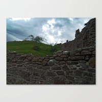 team fortress Canvas Prints featuring Fortress by Steve Watson