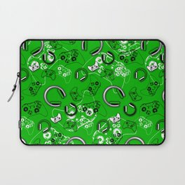 Gamers-Green Laptop Sleeve