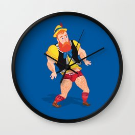 Post-Truth Pinocchio Wall Clock