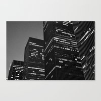 metropolis Canvas Prints featuring Metropolis by Mark Giarrusso