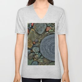 Beach Geology Unisex V-Neck