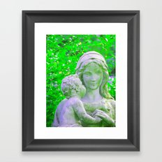 She Will Listen Framed Art Print