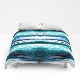Different Realms (blue) Comforters