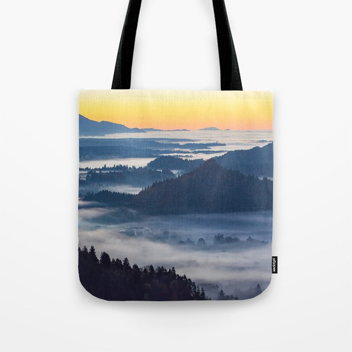 Sunset Valley #landscape #photography #society6 Tote Bag