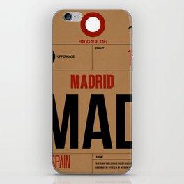 MAD Madrid Luggage Tag 2 iPhone Skin
