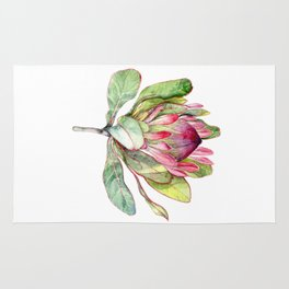 Protea Flower Rug