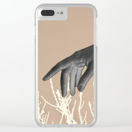 Wasting Days Clear iPhone Case