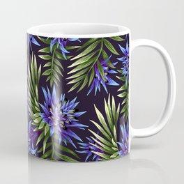 Aechmea Fasciata - Blue/Green Coffee Mug